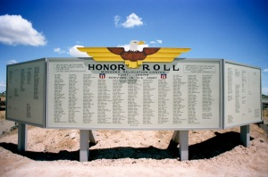 Honor Roll wall
